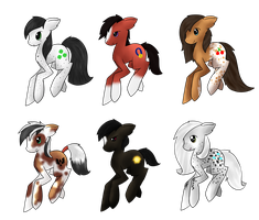 Horse pony adopts by CleverConflict
