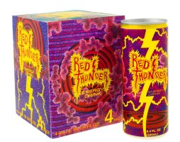 Red Thunder Energy Drink by pikajane