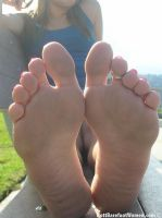 Giantess feet 4 by LPFAN1997