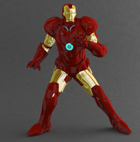 Iron Man by bigcurf