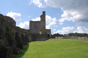 The Great Tower Of Chepstow by Rovanite