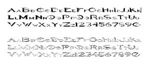 HALO FONTS by Buy50