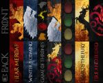 Game of Thrones Bookmarks by studioofmm