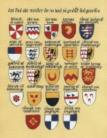 Teutonic Order Grand Masters arms, 1198-1410 by Pietrach