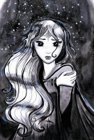The Last Unicorn: Amalthea by SteakandUnicorns