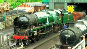 SR 34053 'Sir Keith Park' at Bridgnorth by The-Transport-Guild