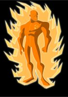 The Human Torch by Apollorising