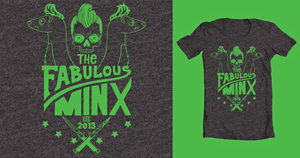 Fabulous Minx T-shirt by coffeestained