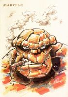 "BEN GRIMM... ""THE THING"" by alexpal"