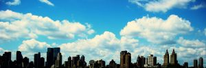 new york city skyline by la-fraa