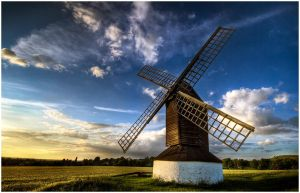 Pitstone Windmill by Mohain