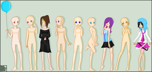 WIP OF GROUP PROJECT by PrincetonsMonster