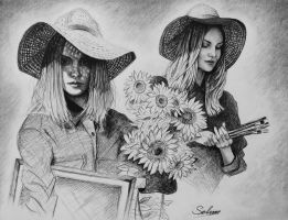 Tournesols love-story by Selim-mileS