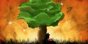 happy little tree by Quosui