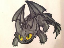 Toothless :) by BerkTheFirst