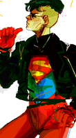 superboy?? by causticbot