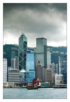 HK III - Bank of China by cody29