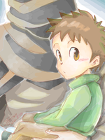 Ging carries Gon by Tangmo2356