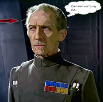 rotoscoped tarkin by InfamouslyDorky