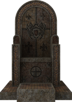 3D Throne by zememz