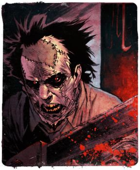Leatherface by spidermanfan2099