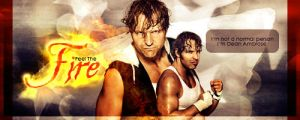 Dean Ambrose - Feel the Fire by Sexton666