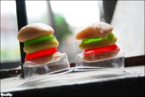 Photography : Twin Burger by PaulaKun