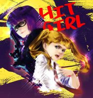kick-ass:hit girl by siruphial