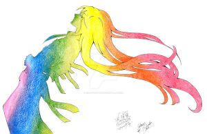 Rainbow - Colab by GisaPizzatto