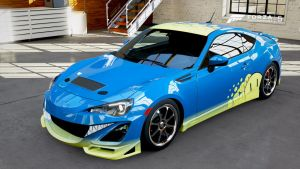 Forza 5 - Another BRZ for Smileh by RyoFox630