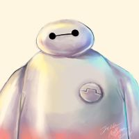 Big Hero 6- Baymax by Bluemisti