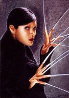 Lady Deathstrike card 340 by charles-hall