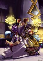 World of Warcraft Tribute Book Koori and Lucios by pulyx