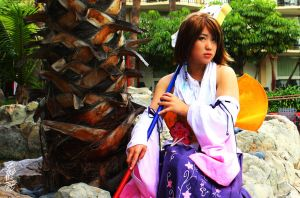 FFX Yuna: Waiting For Him by Bubydub