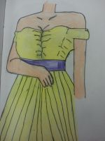 Girl Wearing A dress by izzy3301