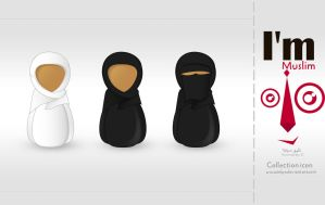 Muslima Icon by Telpo