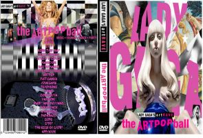 Gaga Artpop Dvd by utskushi-billy