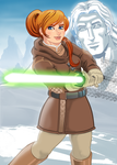 Star wars Tales of the Jedi Vima Sunrider by dmtr1981