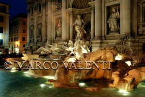 Fontana di Trevi by night 1 by Valar84