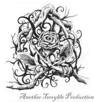 Rose tattoo design 1 by terryrism