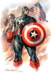 Captain America commission by felipemassafera