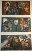 Dark Knight Trilogy by whatevah32