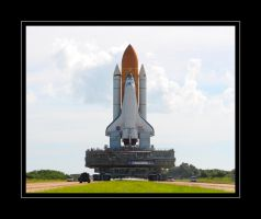 STS-125 Rollout III by OpticaLLightspeed