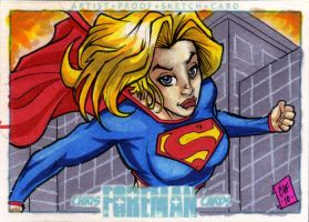 Supergirl PSC by Foreman by chris-foreman