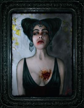 wounded heart by lidiaBartlam