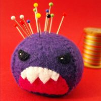 Rage the Pincushion by jefita