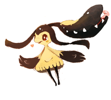 Etoile the Mawile by Teatime-Rabbit