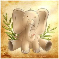 Conrad the Elephant by CodiBear