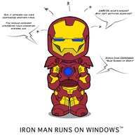 Iron Man Runs On Windows by VaIisk