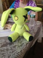 Zombie Bunny Plush by Revilynn